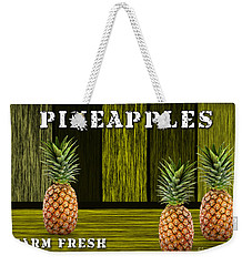 Pineapple Farm Weekender Tote Bag by Marvin Blaine