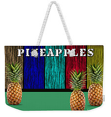 Pineapples Weekender Tote Bag by Marvin Blaine