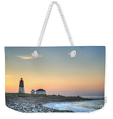 Point Judith Lighthouse Weekender Tote Bag by Juli Scalzi