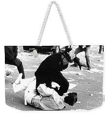 Poll Tax Riots London Weekender Tote Bag