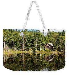 Pond Along The At Weekender Tote Bag