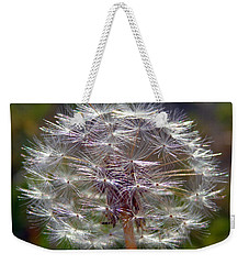 Weekender Tote Bag featuring the photograph Poof by Joseph Skompski