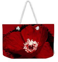 Poppy Weekender Tote Bag by Tiffany Erdman