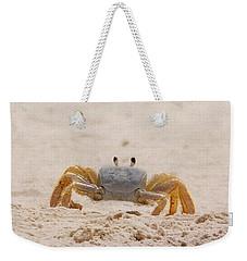 Portrait Of A Ghost Crab Weekender Tote Bag