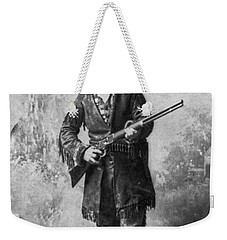 Portrait Of Calamity Jane Weekender Tote Bag by Underwood Archives