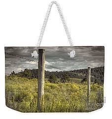 Prairie Fence Weekender Tote Bag