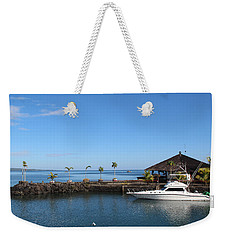 Weekender Tote Bag featuring the photograph Quiet Bay by Sergey Lukashin