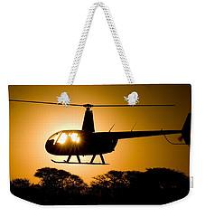 R44 Sunset Weekender Tote Bag by Paul Job