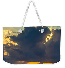 Rays From The Clouds Weekender Tote Bag