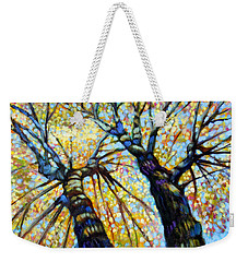 Reaching For The Light Weekender Tote Bag