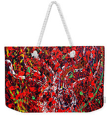Recurring Face Weekender Tote Bag