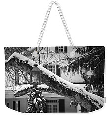 Holiday Candle Light Weekender Tote Bag