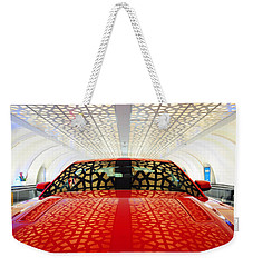 Red Savage Beauty 3. Ford Mustang Weekender Tote Bag