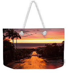 Sunset After Rain Weekender Tote Bag