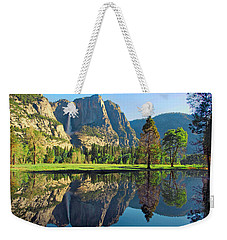 Reflections Of Yosemite Falls Weekender Tote Bag