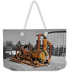 Retired Petroleum Pump Weekender Tote Bag