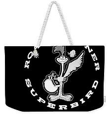 Road Runner Superbird Emblem Weekender Tote Bag