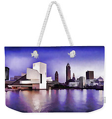 Rock And Roll Hall Of Fame - Cleveland Ohio - 3 Weekender Tote Bag