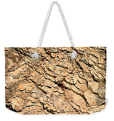 Weekender Tote Bag featuring the photograph Rock Wall by Henrik Lehnerer