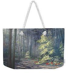 Roena King - Christmas Light Weekender Tote Bag