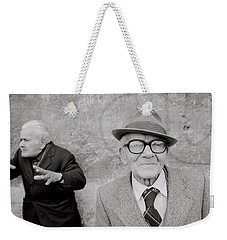 Style Of Italy Weekender Tote Bag by Shaun Higson