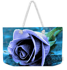 Rose In Water  Weekender Tote Bag