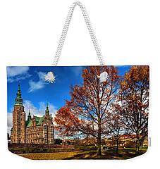 Rosenborg Castle Copenhagen Weekender Tote Bag by Carol Japp
