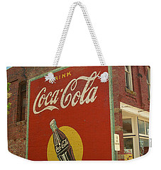 Route 66 - Coca Cola Ghost Mural Weekender Tote Bag