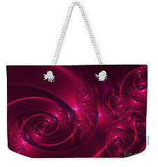 Ruby Red Weekender Tote Bag