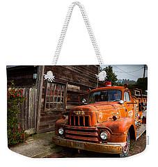 Rusty Weekender Tote Bag by Mark Alder