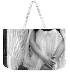 Sad Angel Woman Weekender Tote Bag by Jill Battaglia