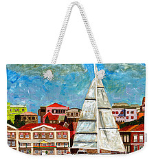 Sailing In Weekender Tote Bag