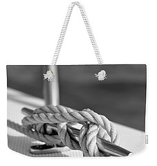 Sailor's Knot Square Weekender Tote Bag by Laura Fasulo