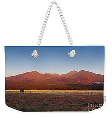 San Francisco Peaks Sunrise Weekender Tote Bag