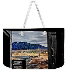 Sandia Mountains Weekender Tote Bag