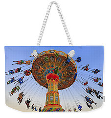Santa Cruz Seaswing At Sunset 7 Weekender Tote Bag