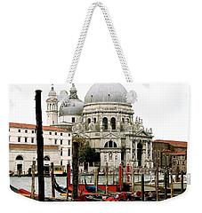 Santa Maria Della Salute Weekender Tote Bag by Ira Shander