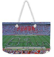 27w115 Script Ohio In Osu Stadium Weekender Tote Bag