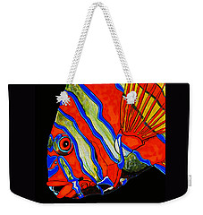 Weekender Tote Bag featuring the painting See Me Sea You by Debbie Chamberlin