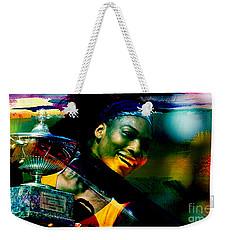 Serena Williams Weekender Tote Bag by Marvin Blaine