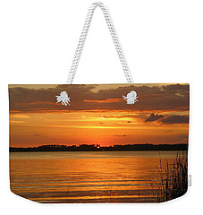 Setting Sun In Mount Dora Weekender Tote Bag