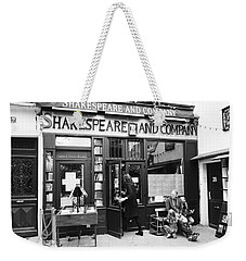 Shakespeare And Company Bookstore In Paris France Weekender Tote Bag