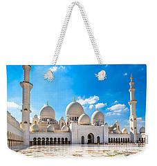 Sheikh Zayed Mosque - Abu Dhabi - Uae Weekender Tote Bag