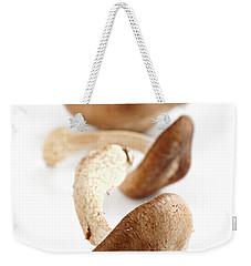 Shiitake Mushrooms Weekender Tote Bag by Elena Elisseeva