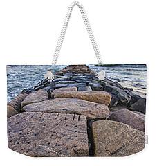 Shinnecock Inlet Jetty Weekender Tote Bag