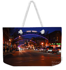 D8l353 Short North Arts District In Columbus Ohio Photo Weekender Tote Bag