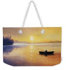 Silence Weekender Tote Bag by Vesna Martinjak