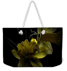 Silent Light Weekender Tote Bag by Marija Djedovic