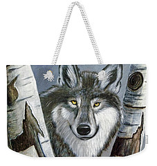 Silent Watcher Weekender Tote Bag by Kenny Francis