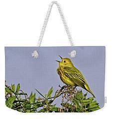 Singing Weekender Tote Bag